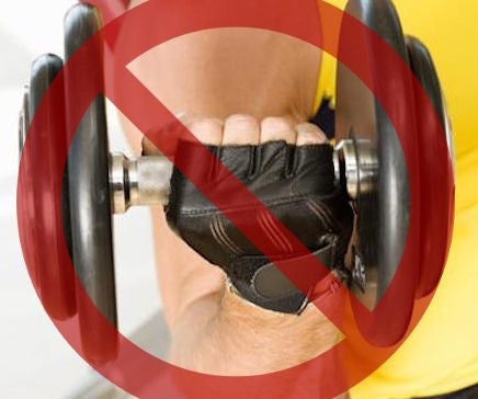 DIY Gym Gloves (a.k.a. Throw Your Conventional Gym Gloves Away)