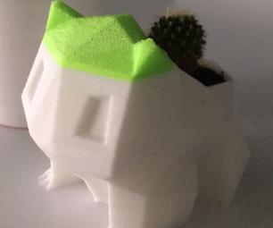 How to Design a Bulbasaur Plant Pot