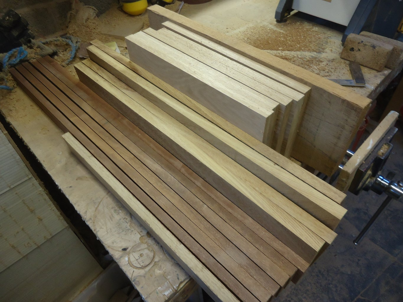 Gather Your Wood, and Make It Into Rods