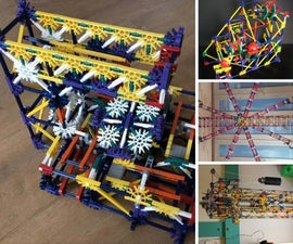 Knex Ball Machine Elements, Lifts, and More