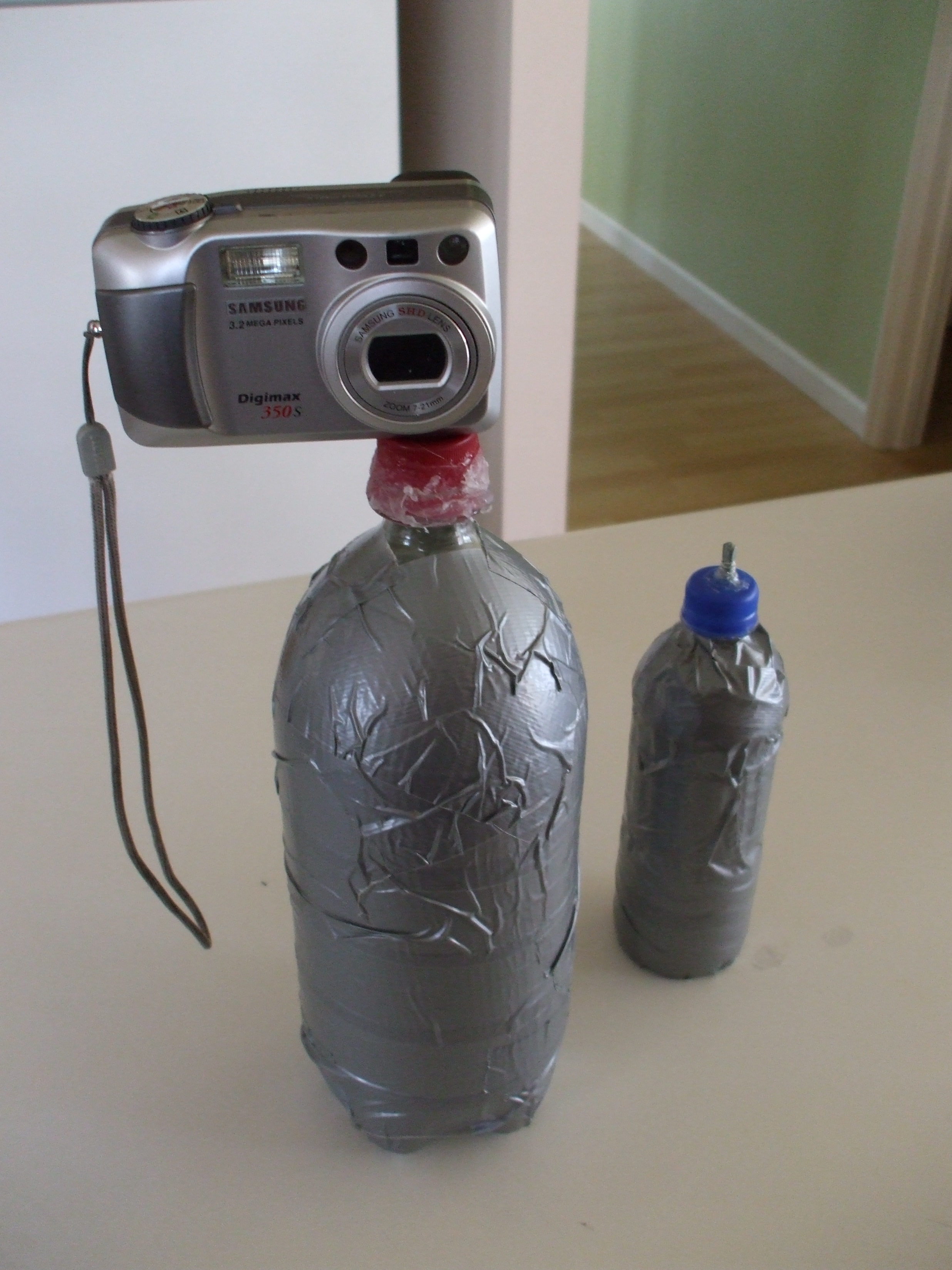 How to make a Tripod out of a 2 liter