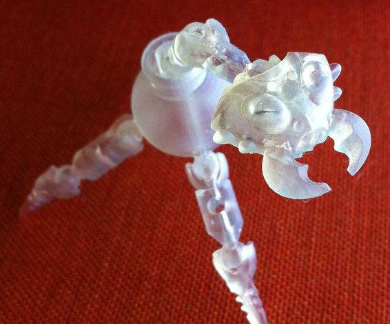 Tiny 3D Printed Models