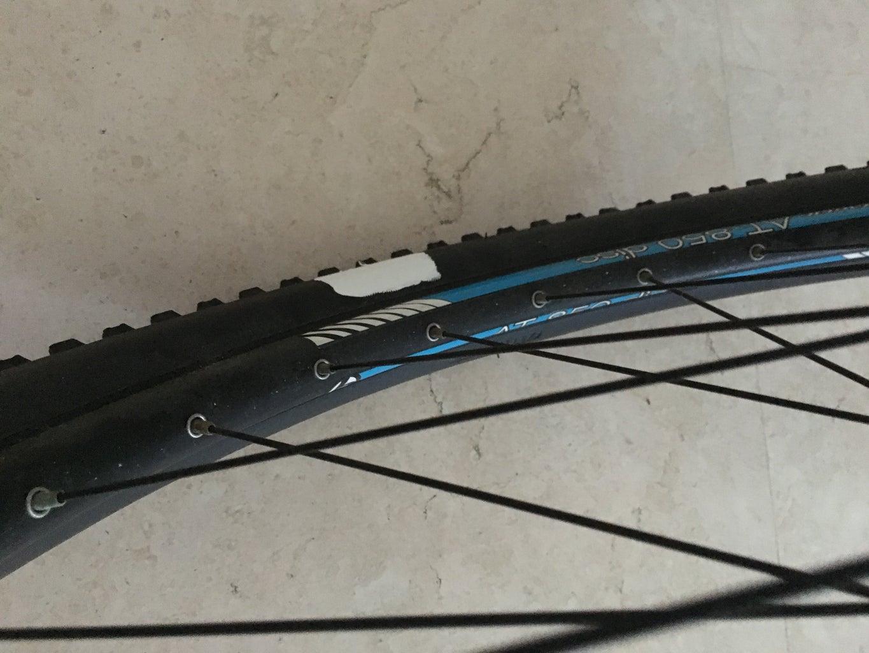 Painting the Bike Wheel