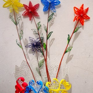 Make Bouquets of Paper Flowers
