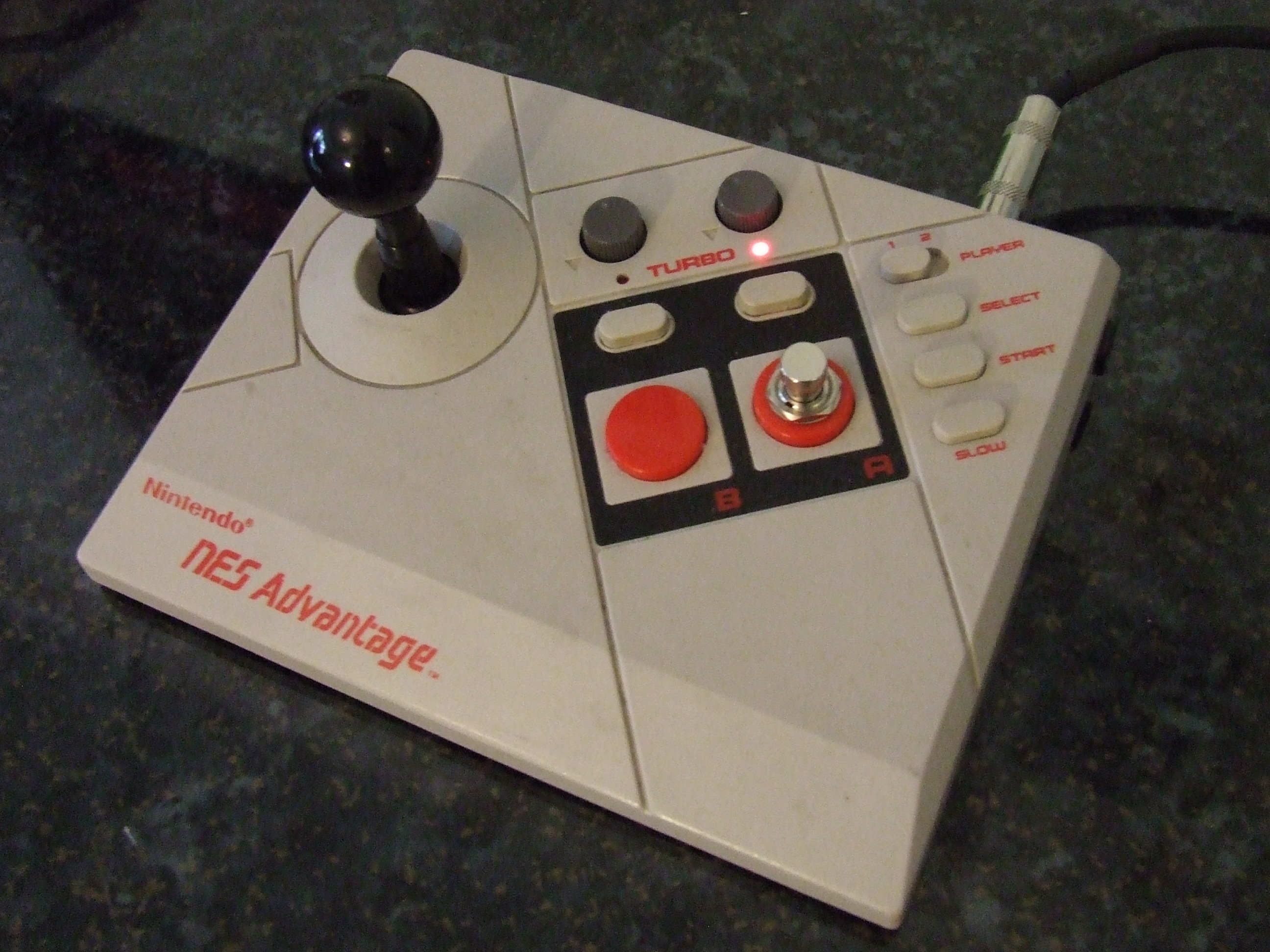 Nintendo Advantage Guitar Pedal