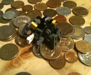 Lego COIN to BUG Transformer!