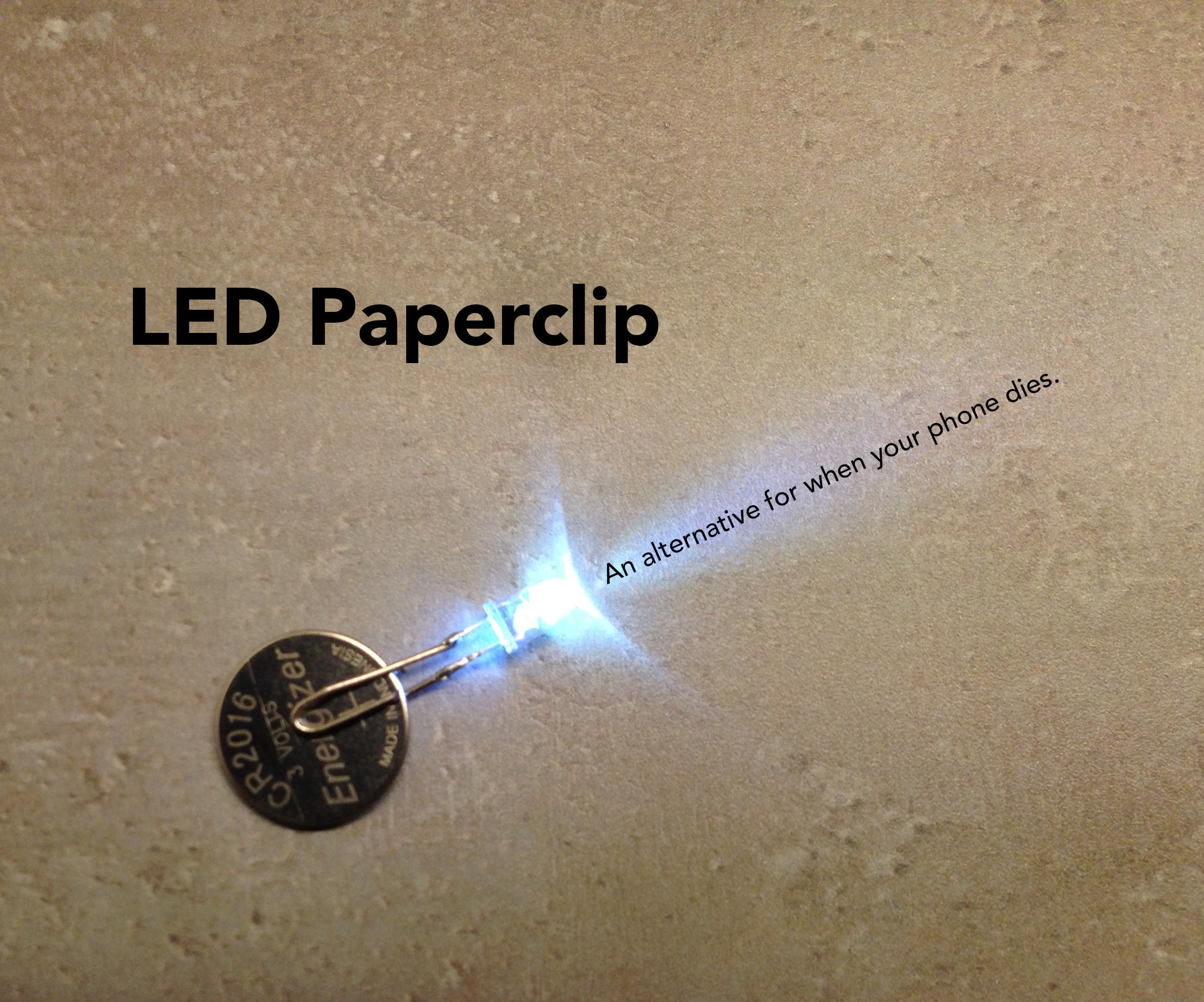 LED Paperclip