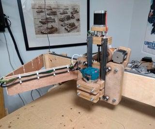 Low Cost DIY CNC Router - Part Deux