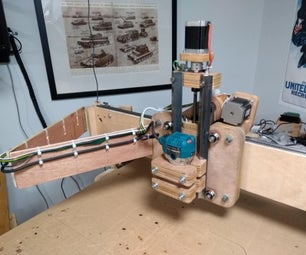 低成本DIY CNC路由器 - 部分DEUX