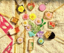 Botanical Resin Jewelry
