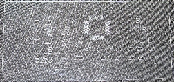Create Solder Paste Stencils With Cricut