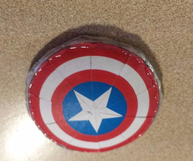 diy mini captain america shield 6 steps with pictures instructables diy mini captain america shield 6