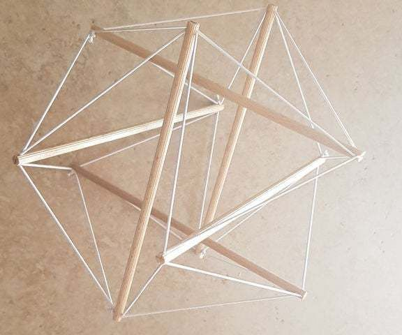 How to Build a Tensegrity Structure