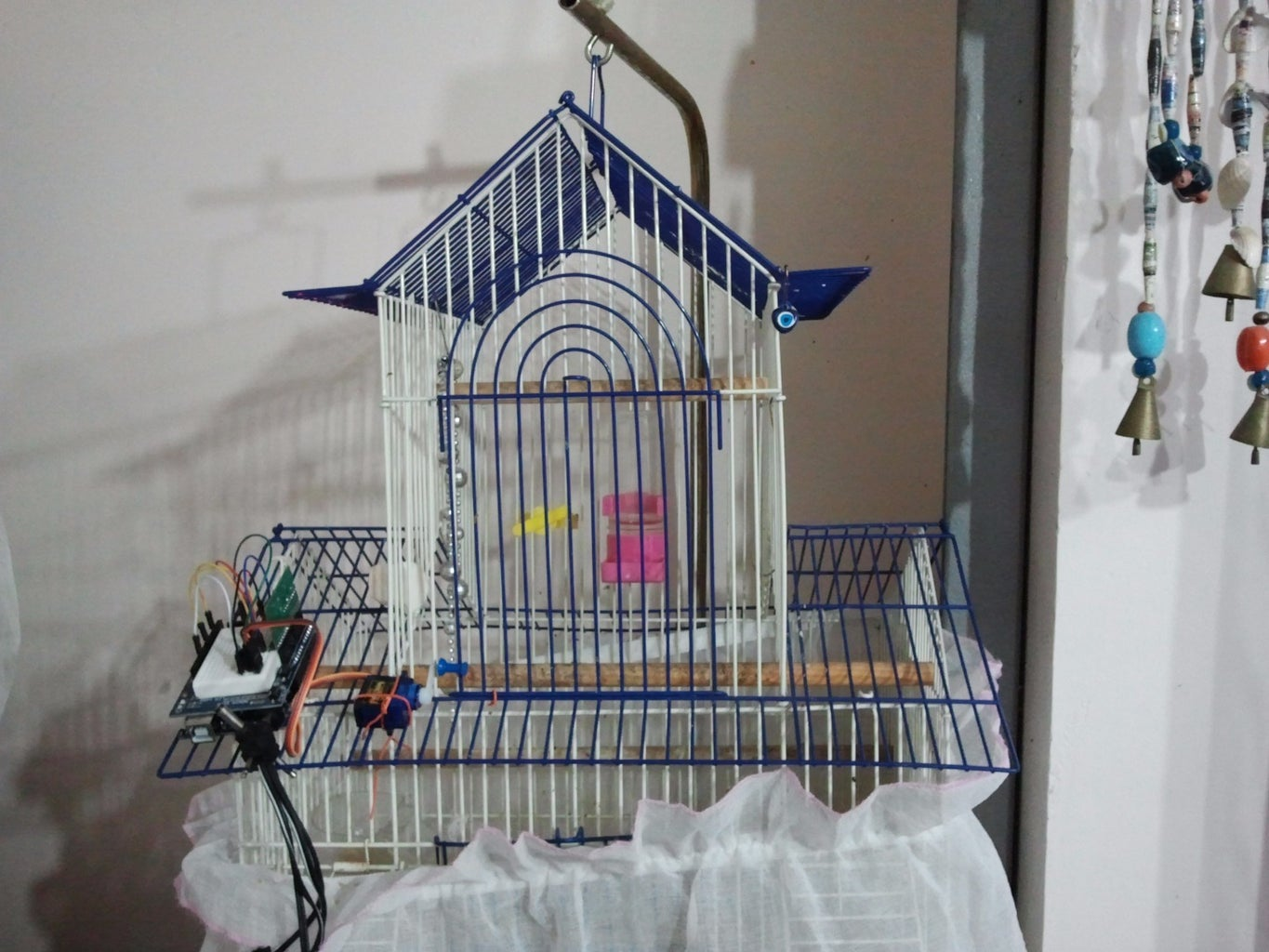 Connecting Servo With the Door of the Cage