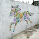 Cement Wall Art