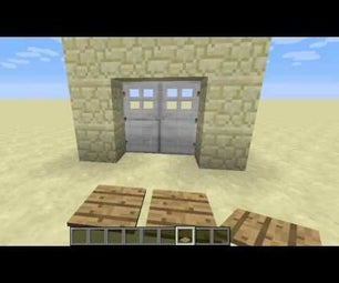 How to Make Two Iron Doors Open at the Same Time