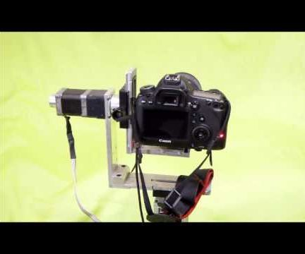Motorized panorama and timelapse pan tilt sytem