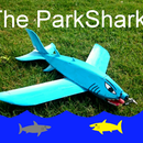 The Great Blue ParkShark RC Airplane
