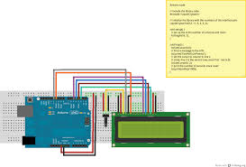 Connection Lcd to Arduino