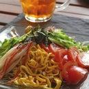 Japanese Cold Noodle / Hiyashi Chuka