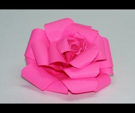 How to Make Paper Rose  DIY