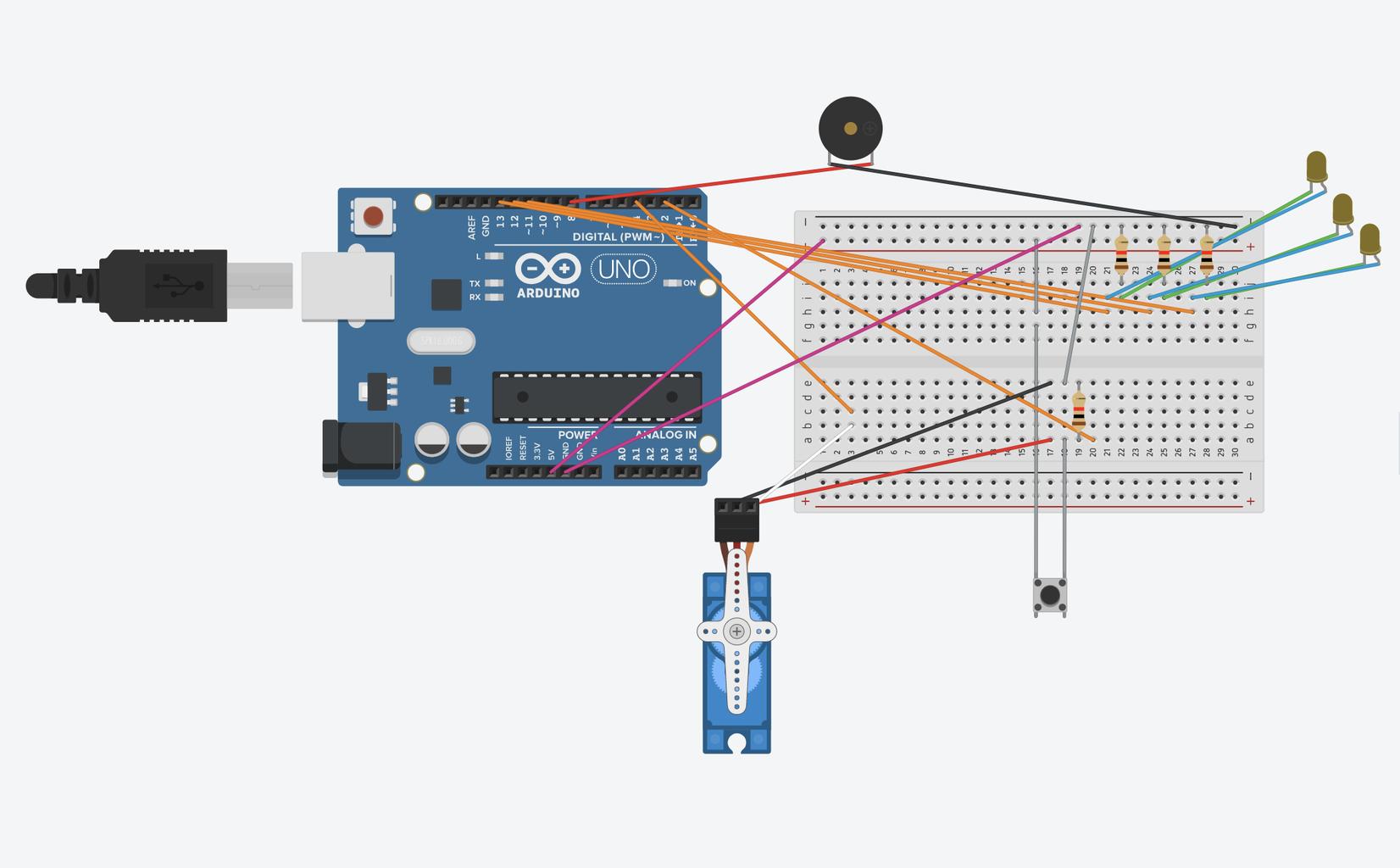 Populate the Arduino Board