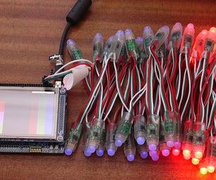 Touchscreen RGB Light Controller