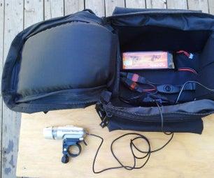 RC Battery Power for Bike Lighting