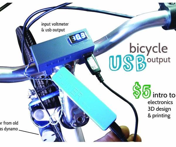 Bicycle USB Output