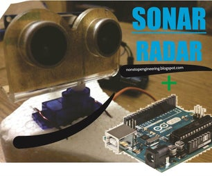Sonar Radar System Using Arduino, Servo & Ultrasonic (HC-SR04)