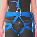 How to make an emergency webbing harness