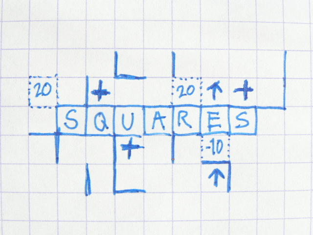 Variations on a Classic: Dots and Squares