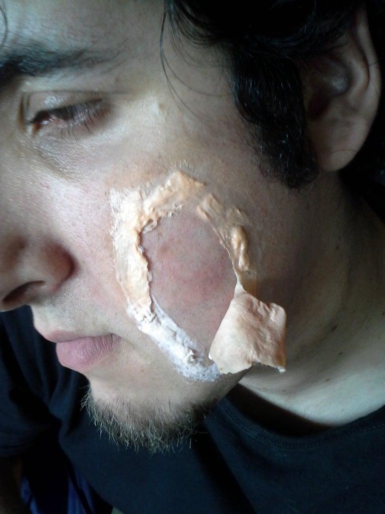 Tear Open the Face