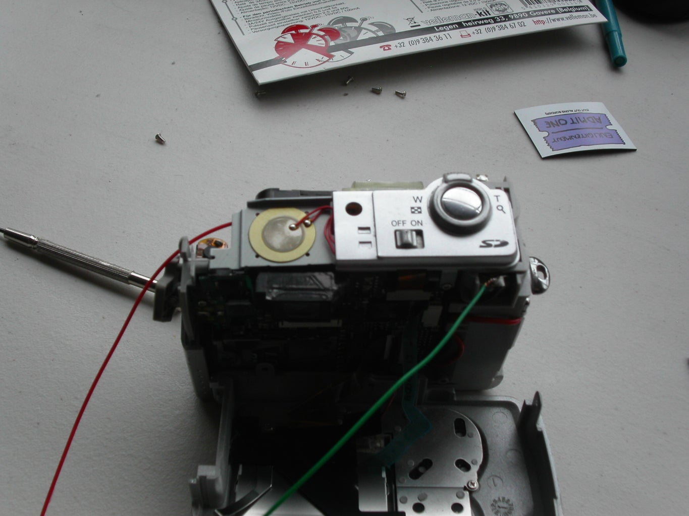 Wire Up Your Camera