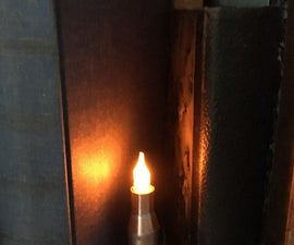 A 'Trench Art' Electronic Candle