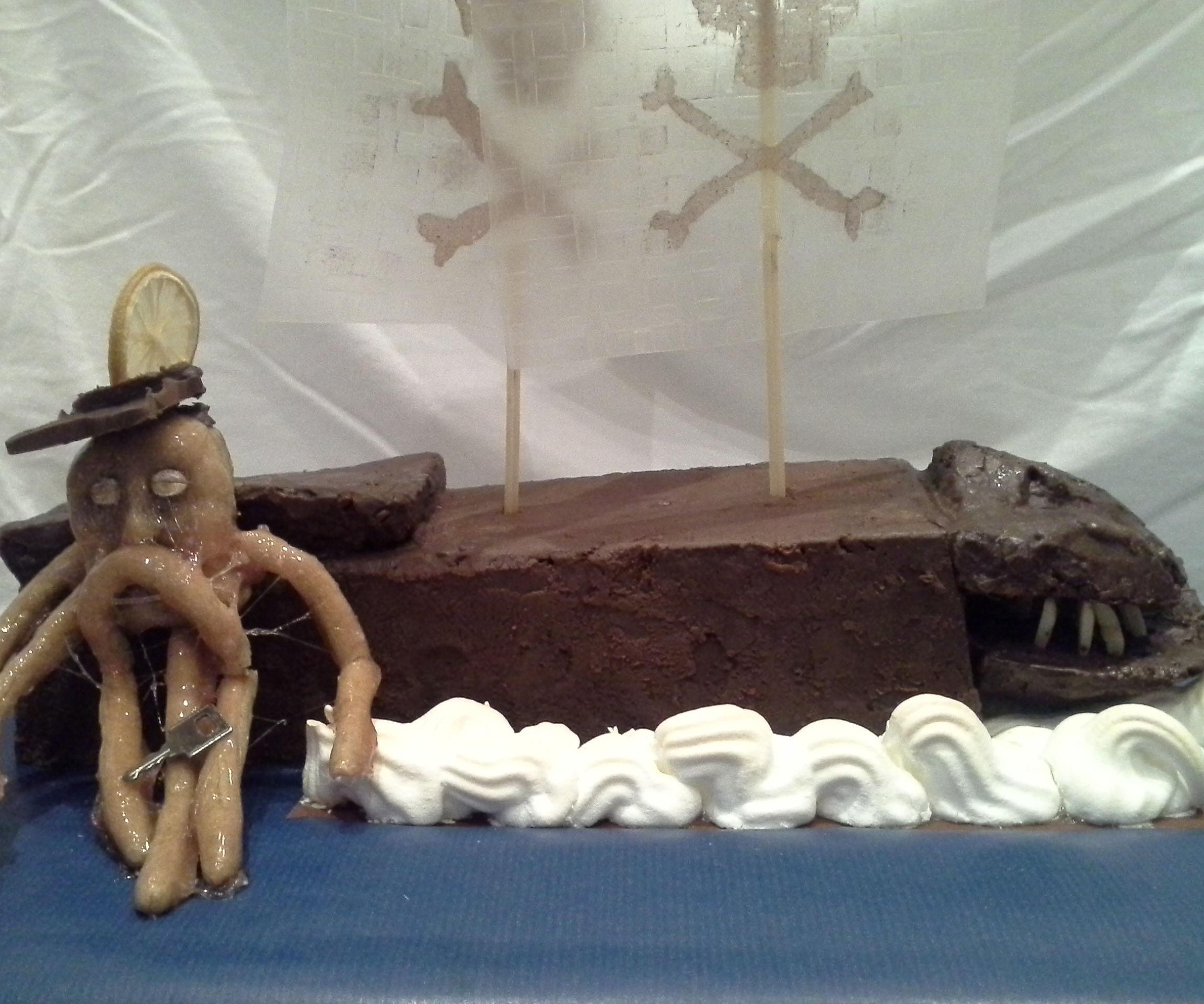 Flying Dutchman cake