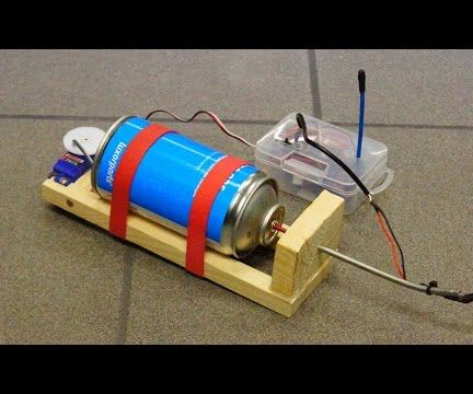 DIY Remote Controlled Flamethrower