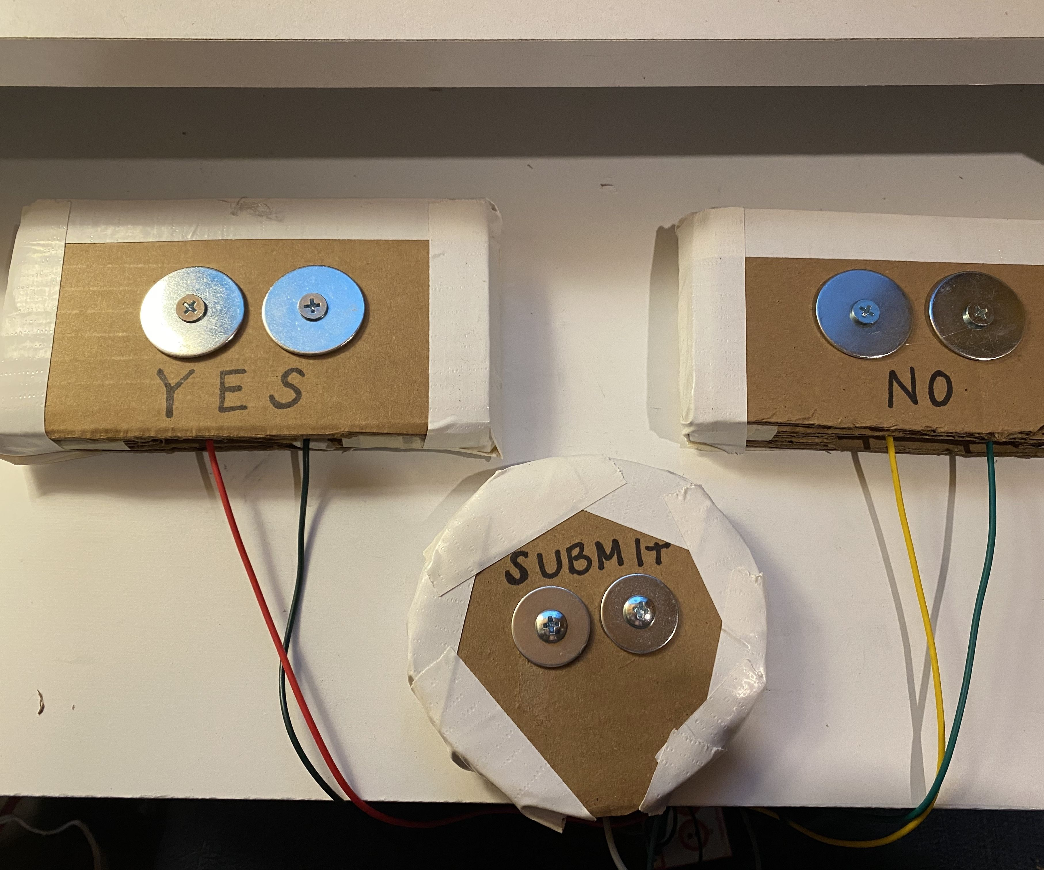 Daily Poll With Makey Makey and Google Sheets