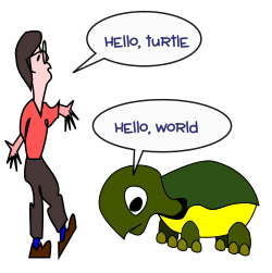 How to Talk to a Turtle