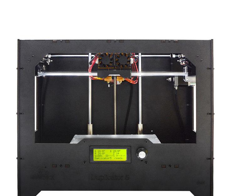 How to DIY a Duplicator 5 Dual Extruder 3D Printer-part 2