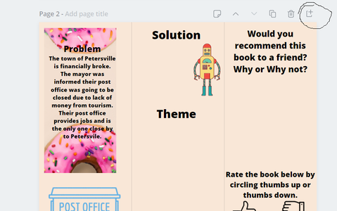 Step 6: Now You Are Ready to Write Your Book Report Brochure!