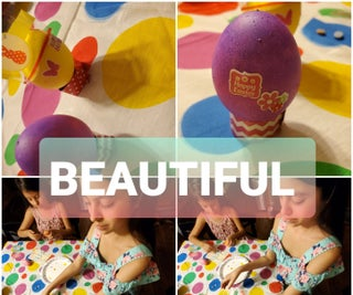 Dying the Easter Eggs