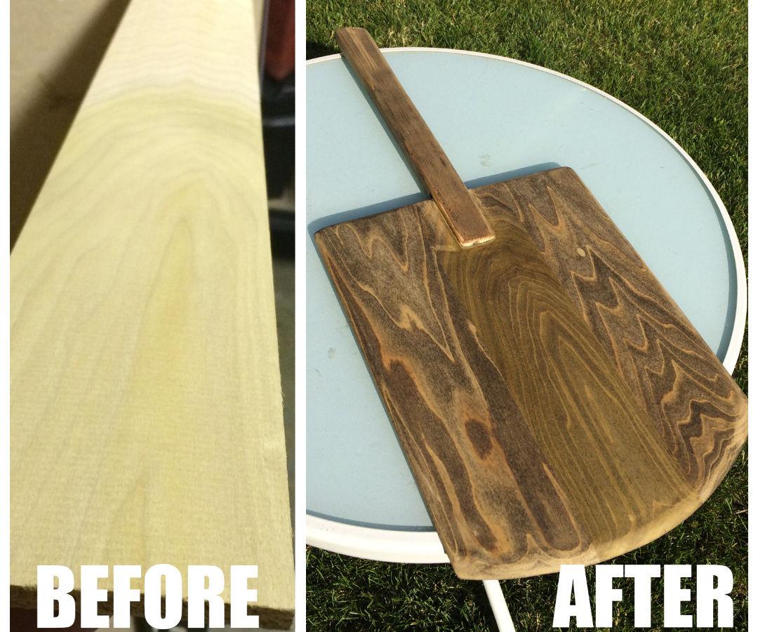 Wood Pizza Peel - From Scrap wood
