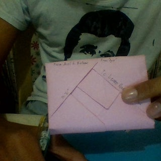 Letter With Envelope Included!