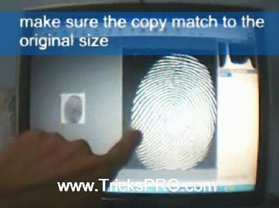 How to Fool a Fingerprint Security System As Easy As ABC