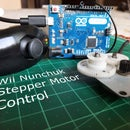 Wii Nunchuk Controlled Stepper Motor | Joystick Motor Control
