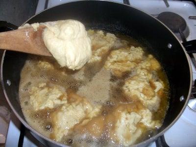 Spoon in Dough