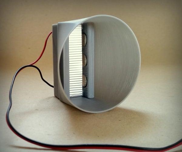 DIY Tinfoil Ribbon Speaker