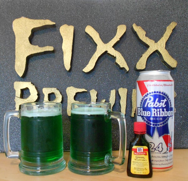 Make Green Beer at Home for St. Patrick's Day
