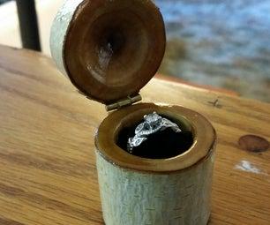 Custom Wooden Ring Box